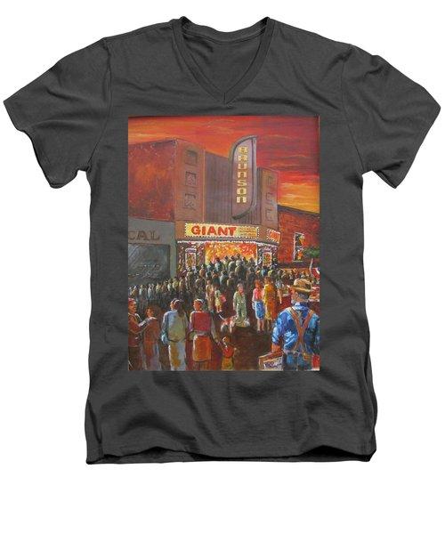 Childhood Memories Men's V-Neck T-Shirt