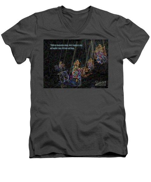 Childrens Verse Men's V-Neck T-Shirt