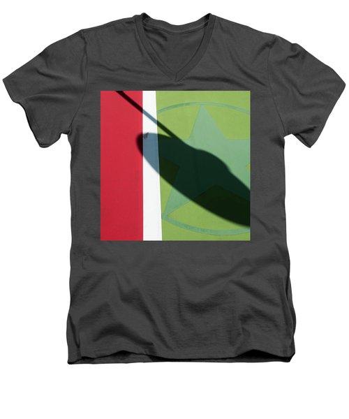 Chili Spot Men's V-Neck T-Shirt