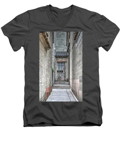 China Alley Men's V-Neck T-Shirt