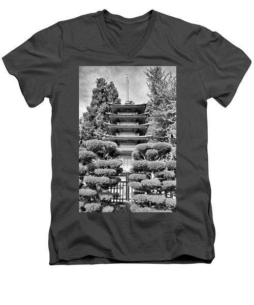 Golden Gate Park  Men's V-Neck T-Shirt