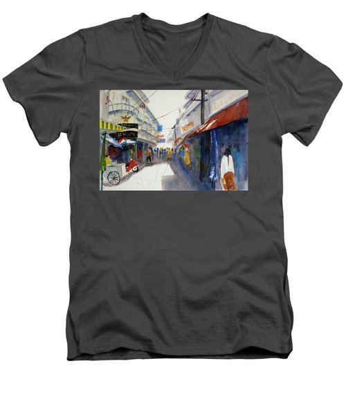 Chinatown, Bangkok Men's V-Neck T-Shirt