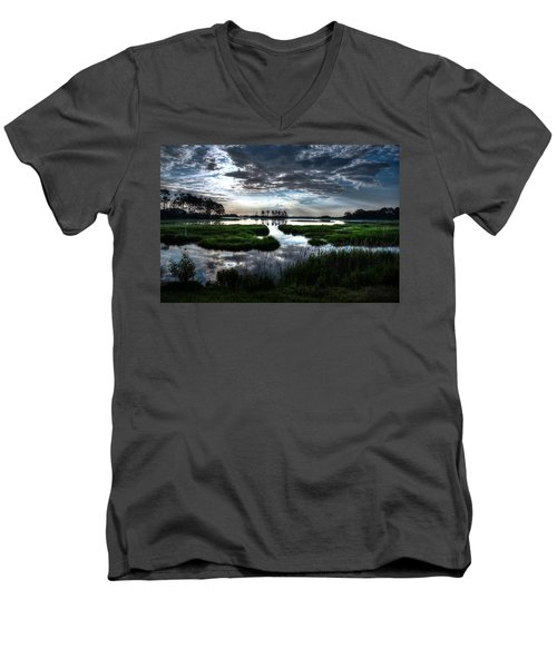 Chincoteague Men's V-Neck T-Shirt