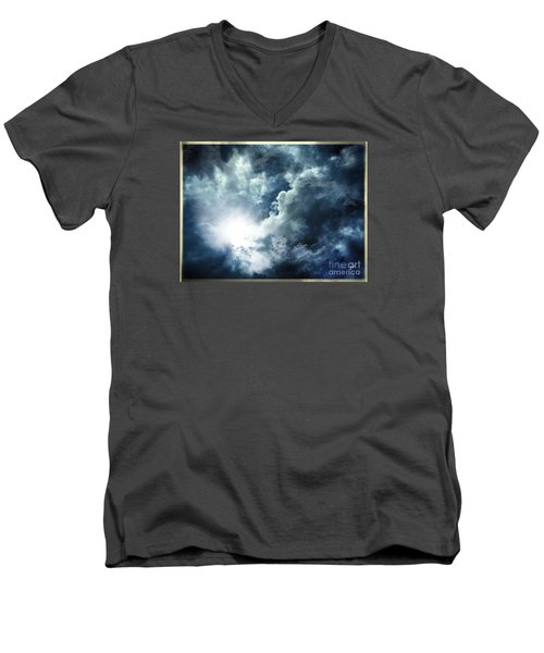 Chink Of Light - Spiraglio Di Luce Men's V-Neck T-Shirt