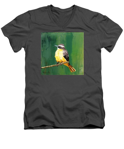 Chirping Charlie Men's V-Neck T-Shirt