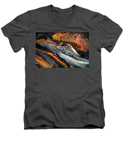 Chobezzo Abstract Series 1 Men's V-Neck T-Shirt by Lilia D