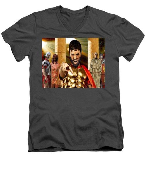 Choose  Men's V-Neck T-Shirt