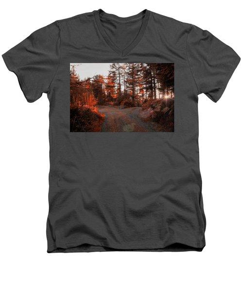 Choose The Road Less Travelled Men's V-Neck T-Shirt