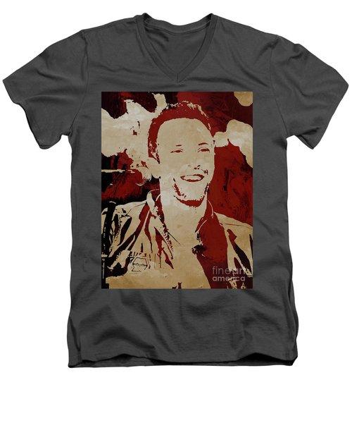 Chris Martin Coldplay Men's V-Neck T-Shirt