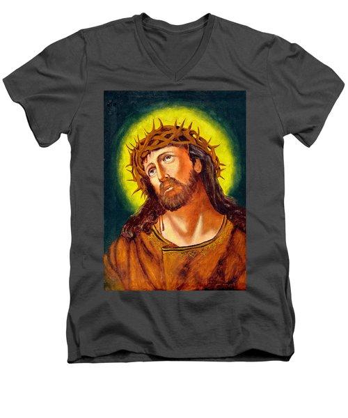 Christ Men's V-Neck T-Shirt