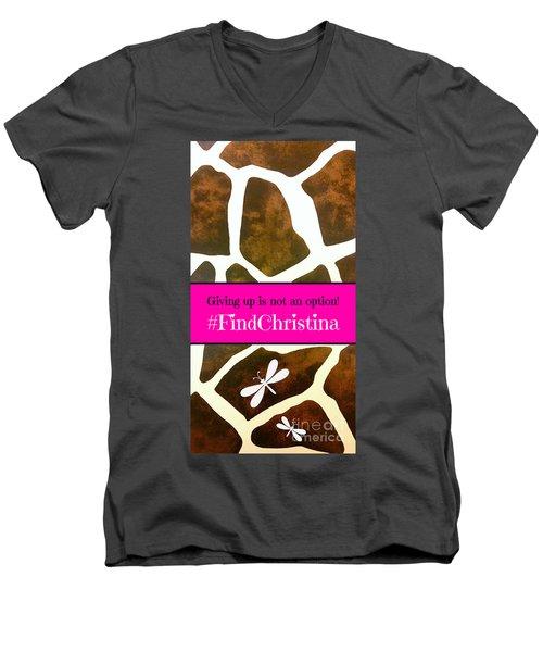 Christina Morris 001 Men's V-Neck T-Shirt