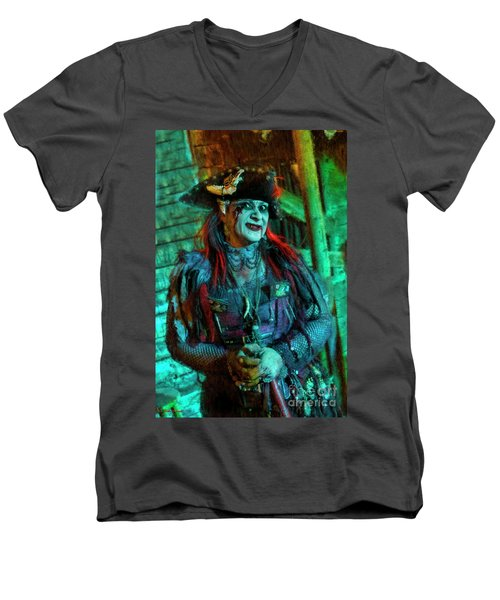 Christine Campiotti And Hunted House Men's V-Neck T-Shirt