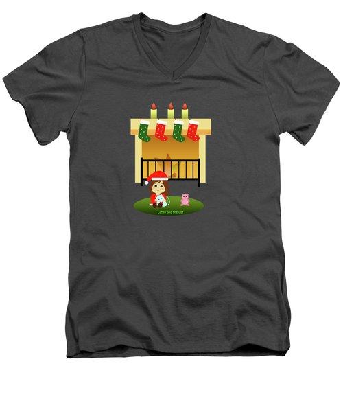 Christmas #4 Men's V-Neck T-Shirt