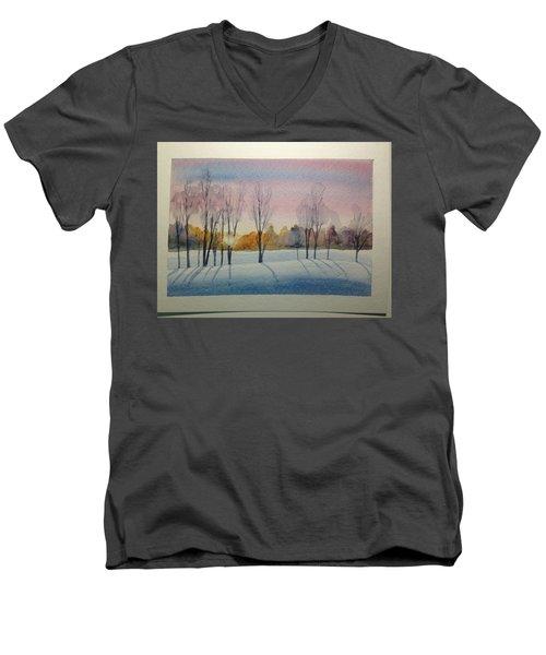 Christmas Card Men's V-Neck T-Shirt