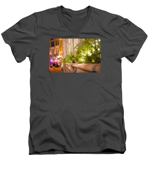 Christmas In St Paul Men's V-Neck T-Shirt