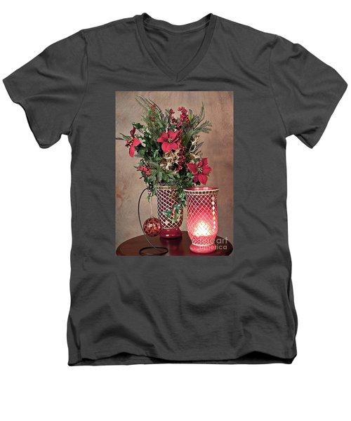 Christmas Jewels Men's V-Neck T-Shirt