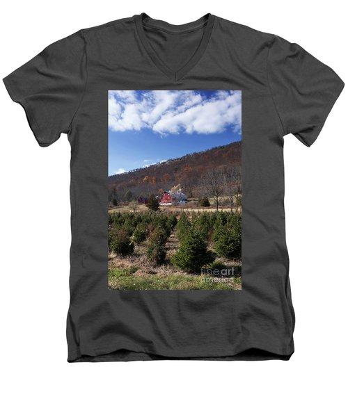Christmas Tree Shopping Men's V-Neck T-Shirt