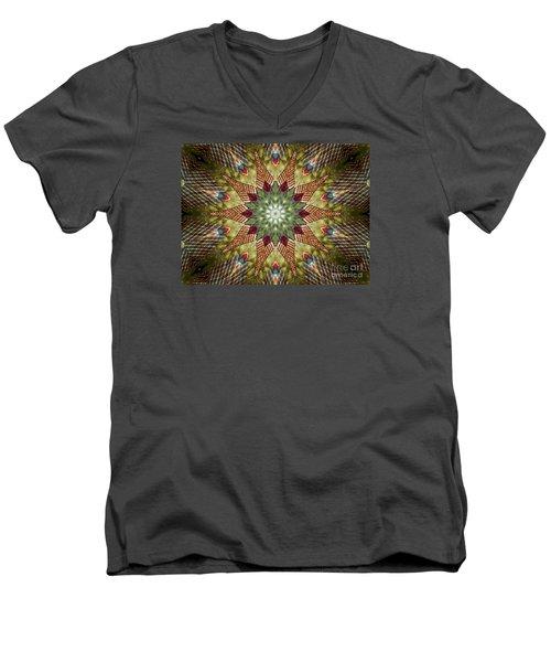 Christmas Wishes  Men's V-Neck T-Shirt by Christy Ricafrente