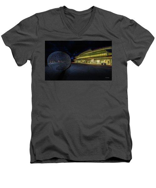 Christopher Cohan Center For The Performing Arts  Men's V-Neck T-Shirt