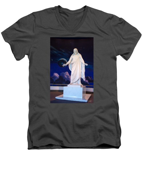 Christus Men's V-Neck T-Shirt
