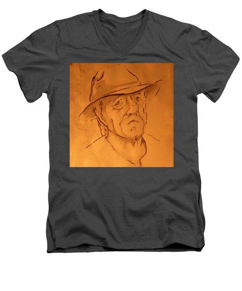 Chuck Men's V-Neck T-Shirt
