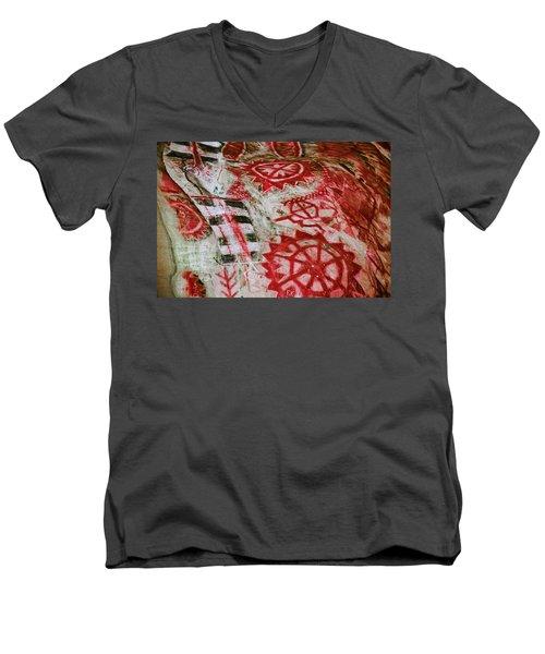 Chumash Painted Cave State Historic Park Men's V-Neck T-Shirt