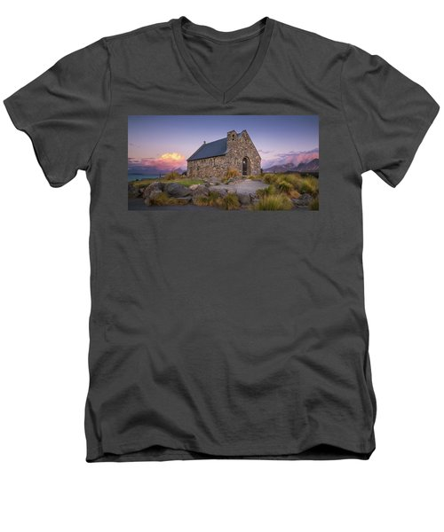 Church Of The Good Shepherd Men's V-Neck T-Shirt