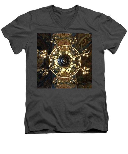 Church Of The Saviour On The Blood Men's V-Neck T-Shirt