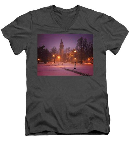 Church Sidewalk Men's V-Neck T-Shirt