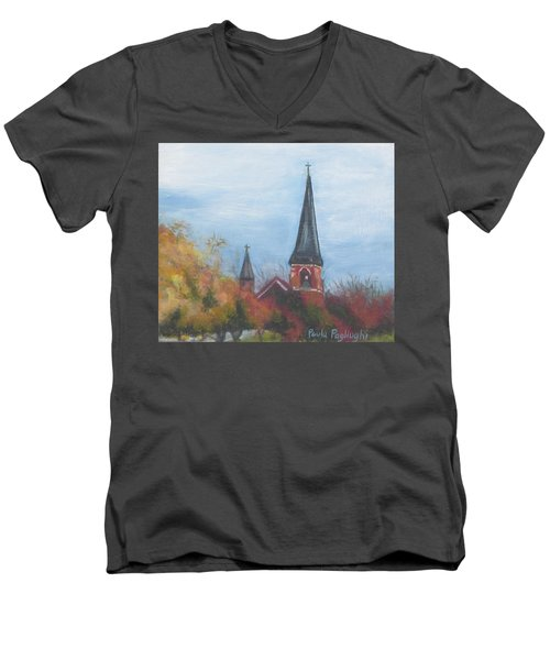 Church Steeple Men's V-Neck T-Shirt