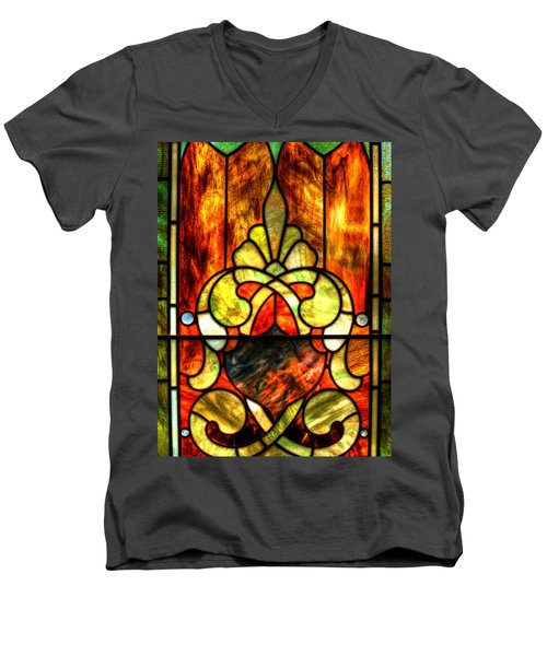 Church Window Men's V-Neck T-Shirt
