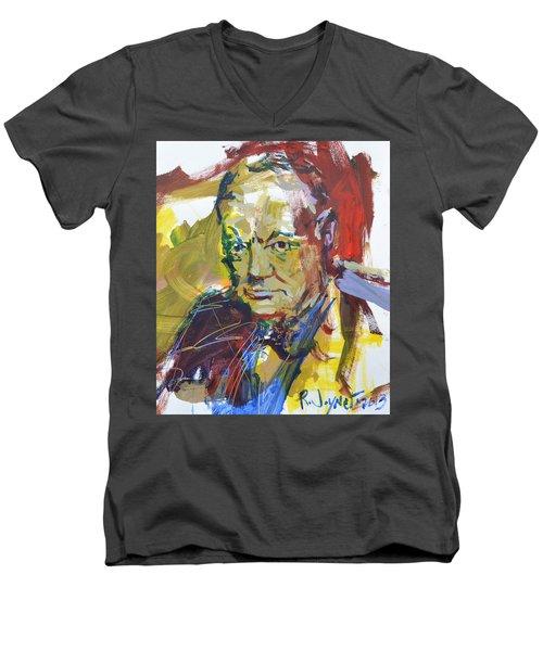 Churchill Men's V-Neck T-Shirt