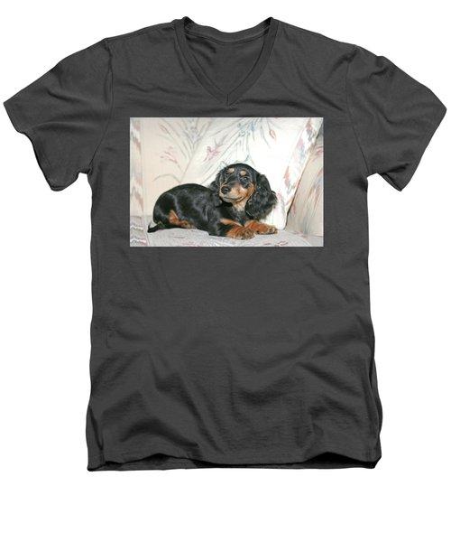 Cinder Men's V-Neck T-Shirt