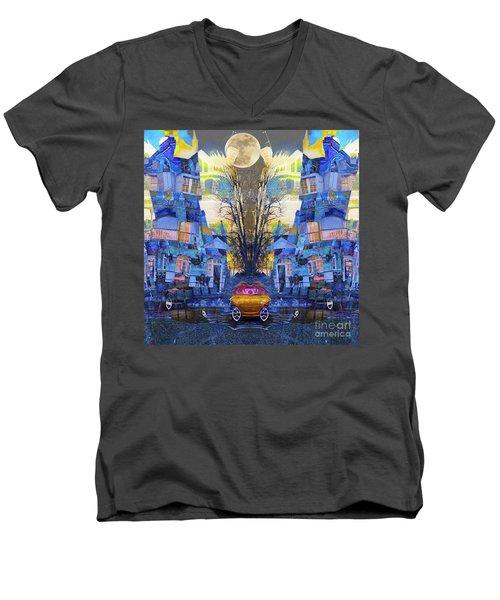 Cinderella's Coach Men's V-Neck T-Shirt