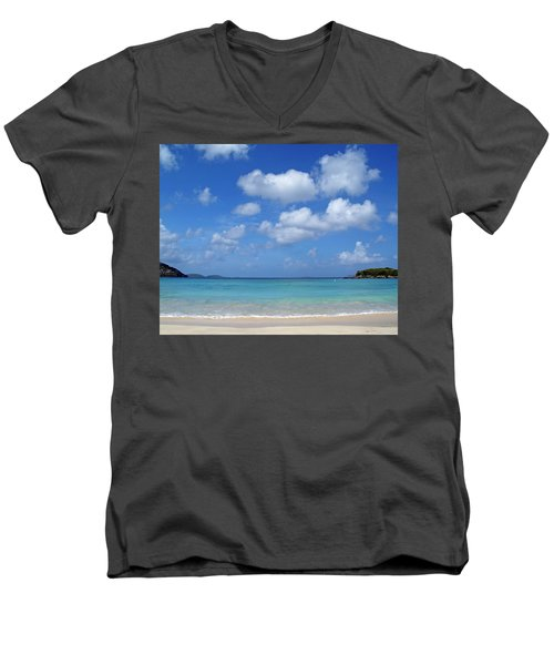 Cinnamon Bay 6 Men's V-Neck T-Shirt