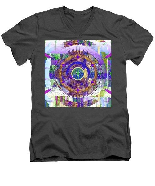 Circle Of Life Men's V-Neck T-Shirt