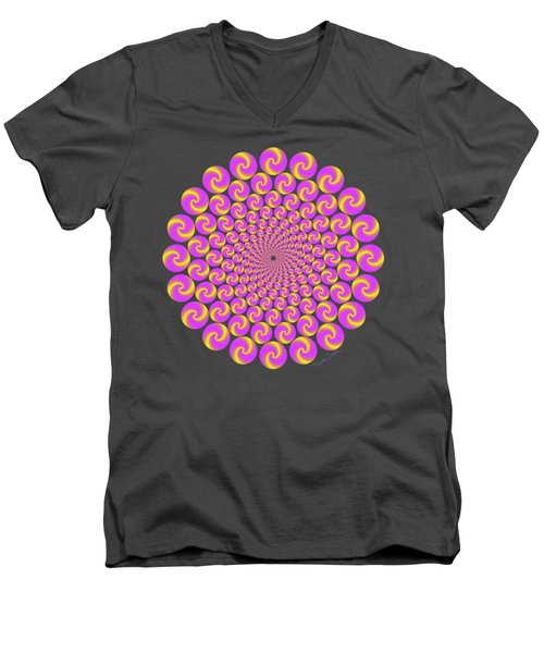 Circles Circus Men's V-Neck T-Shirt
