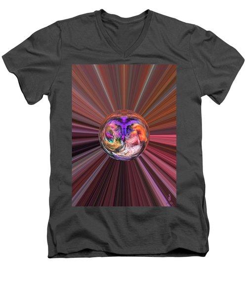Circles Of Life Men's V-Neck T-Shirt