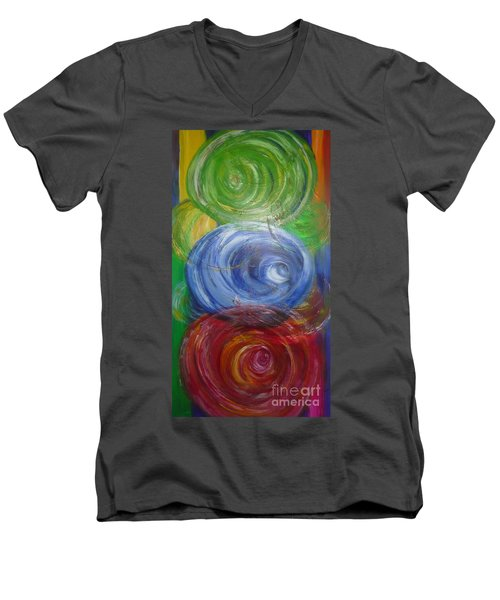 Concentric Joy Men's V-Neck T-Shirt