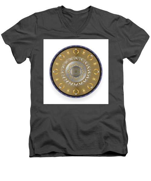 Circulosity No 2916 Men's V-Neck T-Shirt