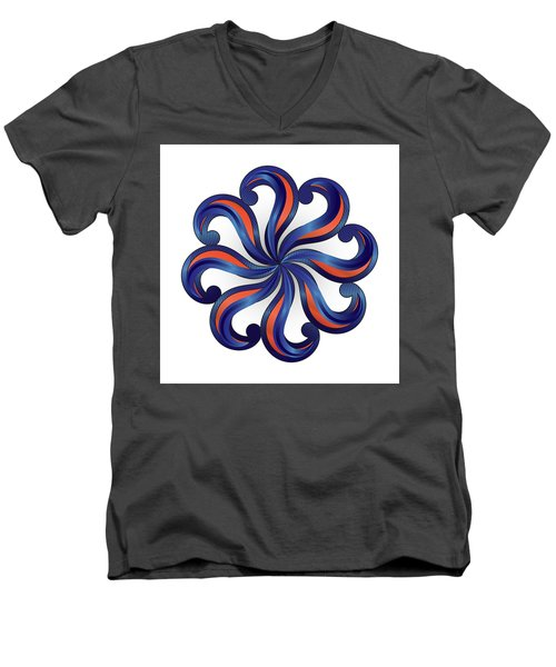 Circulosity No 2920 Men's V-Neck T-Shirt
