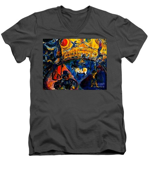 Circus Horse Men's V-Neck T-Shirt
