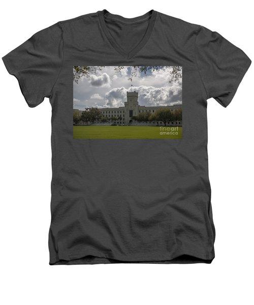 Citadel Military College Men's V-Neck T-Shirt