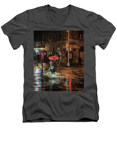 City Colors Men's V-Neck T-Shirt