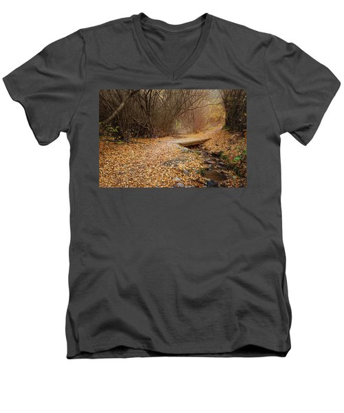 City Creek Men's V-Neck T-Shirt