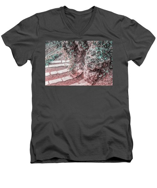 City Grotto Men's V-Neck T-Shirt