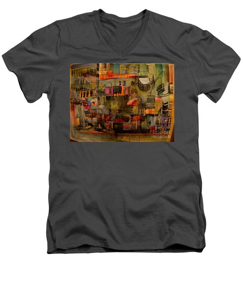 Evening Out Men's V-Neck T-Shirt