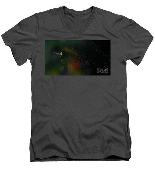 City Rain Men's V-Neck T-Shirt