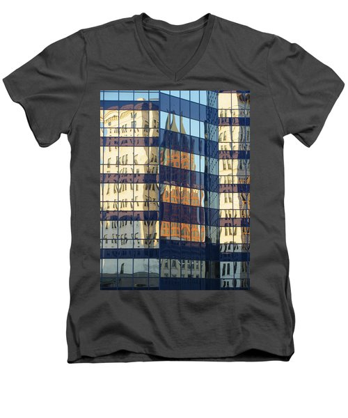 City Reflections 1 Men's V-Neck T-Shirt
