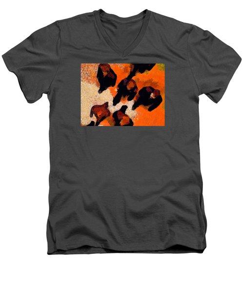 City Slickers Men's V-Neck T-Shirt